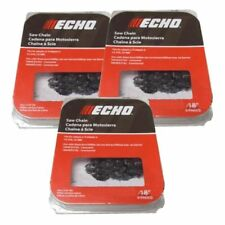 Echo chainsaw replacement chains ebay 91px62cq 3 pack genuine echo oem chainsaw chain 38 62dl 18 greentooth Gallery