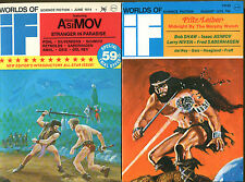 Berserker's Planet by Fred Saberhagen in 2 Issues of IF Digest-Leiber, Asimov