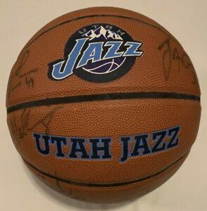 Utah Jazz Team LOGO Basketball 06-07 Sloan, Williams, Boozer, Harpering, Fisher