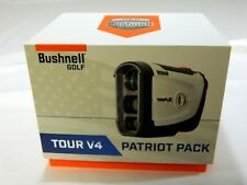 Brand New Bushnell Tour V4 Patriot Pack Golf Laser Rangefinder with Jolt V-4