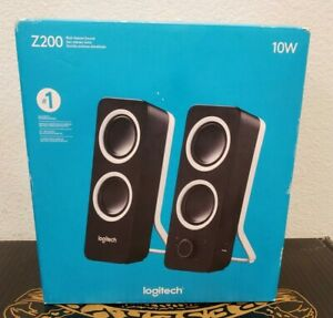 Logitech - Z200 2.0 Multimedia Speakers (2-Piece) - Black NEW!