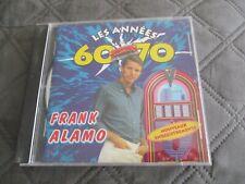 "CD ""FRANK ALAMO - LES ANNEES 60 - 70"" / 15 titres"