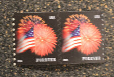 2014USA #4853 Forever Star Spangled Banner (CCL) Coil Pair  Mint  NH  flag 2