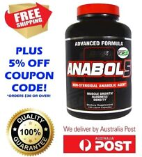 Nutrex Research Labs Anabol 5 120 Liquid Caps ADVANCED MUSCLE GROWTH & RECOVERY