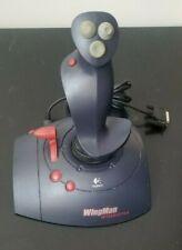 Logitech Wingman Interceptor Computer Gaming Joystick Controller