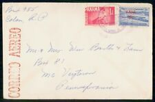 Mayfairstamps Panama Colon to PA Natl University of Medicine Cover wwe_90439
