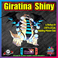 Shiny GIRATINA | Crown of Tundra | 100% Legal | 6IV |  Pokemon Sword Shield