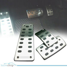 For Honda Civic 9th AT Stainless Gas Pedal Set W/non Slip Rubber JDM 12 13