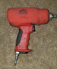 "Mac Tools AW612Q 1/2"" Drive Impact Wrench Red with Boot Cover"