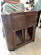 Crosley 629m Radio Console Phonograph Record Player 1939 1940 Art Deco Cabinet