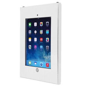 Support mural Tablette iPad 2 3 4 iPad Air conception anti-vol Maclean Blanc