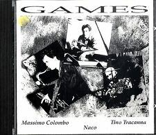 COLOMBO - TRACANNA - NACO Games CD Excellent