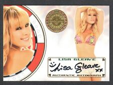 "BENCH WARMER ""VEGAS BABY"" 2012 Autograph Card Signed by LISA GLEAVE"