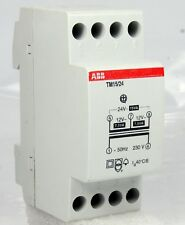 ABB Fail Safe Bell Transformer Tm15/24 230V To 12V / 24V Ac