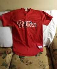 PHILADELPHIA PHILLIES JERSEY - YOUTH XL - THROWBACK - MAJESTIC