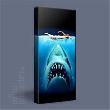 JAWS MOVIE STUNNING ICONIC SHARK CANVAS ART PRINT PICTURE - Art Williams