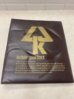 Vintage LJK Letter Perfect Word Processor for Atari 400/800 Computers.