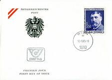 1985 Austria. Dr Adam Politzer (Otologist). SG 2066 FDC. Ersttag. Medicine