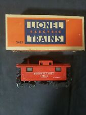 Vintage Lionel 2457 Metal Illuminated  Caboose,with Box