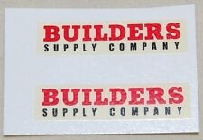 #290 Matchbox 60a Morris Pick UP 'Builders' with black 'Supply Co'