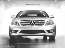 2008 08 Mercedes Benz C Class original  brochure MINT