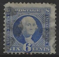 US Stamps - Scott # 115 - 6c Pictorial - Used                            (L-544)