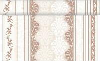 1 Tischläufer Marius in Braun aus Linclass® Airlaid 40 cm x 4,80 m - Tischband