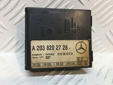 #8086_MERCEDES CENTRAL LOCKING ALARM SYSTEM MODULE / A2038202726 / 510080170