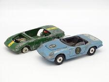 Corgi Toys SB 1/43 - Lotus Elan S2 : lote de 2