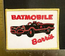 Batman Batmobile 1960s TV Chuck Barris Embroidered Patch Sew On Unused New