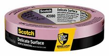 New listing Scotch Delicate Surface Painter's Tape 2080-24Cc-Xs, 0.94 in x 45 yd, 1 Roll