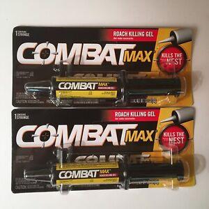 (2 SYRINGE-SEALED) Combat Max Roach Killing Gel Kills the Nest 30gEACH