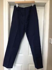 BNWT Haywood TL40 Work Nurses Carer  Trousers in Navy Size 14 x 32L