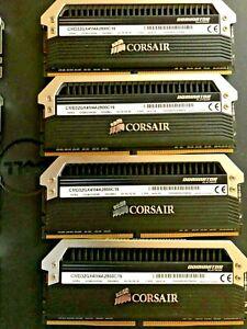 CORSAIR DOMINATOR PLATINUM HIGH PERFORMANCE DDR4 MEMORY CMD32GX4M4A2800C16