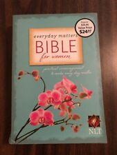 NLT Everyday Matters Devotional Bible for Women - Paperback - $34.99 Retail