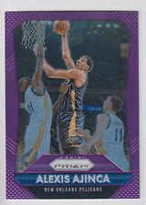 ALEXIS AJINCA 2015-16 Panini Prizm Basketball Purple Prizm #/99 #107 Pelicans