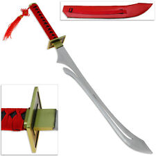Dramatical Murder Anime Koujaku's Replica Sword Carbon Steel Katana Red Handle