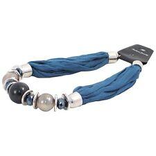 Bufanda Collar Bold Grano-Turquesa