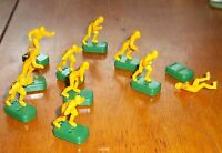 Tudor football  table top football game players Yellow Style # 12
