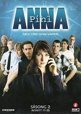 3 DVD TV-Serie aus Dänemark DÄNISCH: ANNA PIHL, Staffel Season 2, NEU,schwedisch