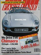 Fast Lane 05/1993 featuring TVR Chimaera, Ford Escort RS2000, Fiat Tipo, Audi