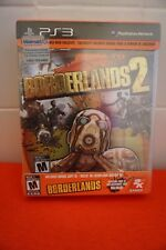 Borderlands 2 PS3 (Sony PlayStation 3, 2012) SPECIAL EDITION WITH BONUS DISC NEW