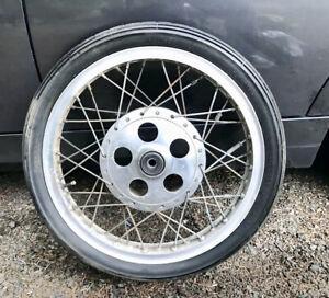 Borrani 18x2 1/4 40  AHRMA racing motorcycle wheel Vintage