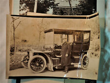 Lot de photos anciennes de famille - vers 1900 - dont tacot