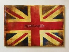 "Antique Country UNION JACK FLAG 2"" x 3"" Fridge MAGNET"