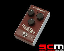 TC Electronic Rusty Fuzz Electric Guitar FX Pedal