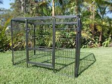 "Dog Playpen Premium 36"" 4 panel ROOF cage pet Puppy kennel cat enclosure pen"