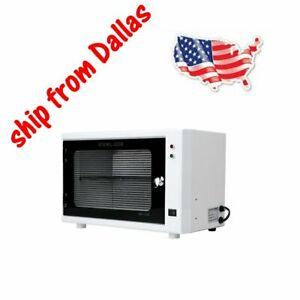 UV Sterilizer Cabinet With Disinfection Plate For iPads Tablets Phones 110V