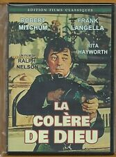 DVD - LA COLERE DE DIEU (ROBERT MITCHUM / RITA HAYWORTH) WESTERN INTROUVABLE !!!
