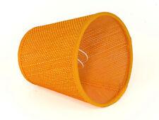Lampenschirm Aufsteck Orange Geflochten Farbenfroh Modern E 14 Klemmschirm
